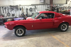 67 Shelby Mustang Restoration Exterior Side