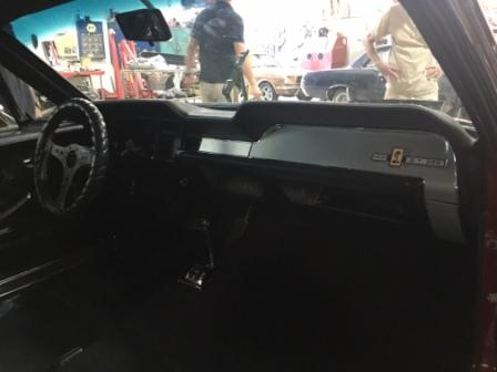 67 Mustang Shelby Conversion Interior