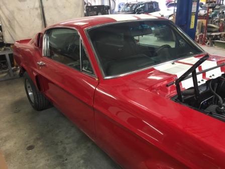 67 Mustang restoration